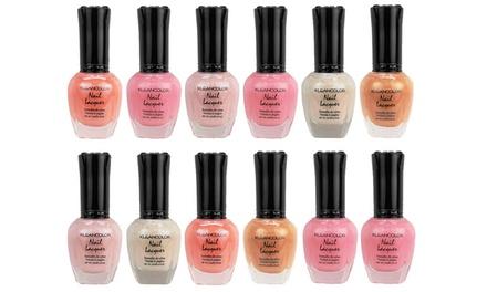 KleanColor Nude Nail Polish Set | Groupon Goods