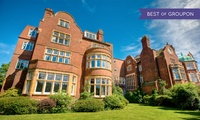 Wedding Package with Three-Course Meal for 50 Guests and Accommodation for Newlyweds at The Burlington Hotel (47% Off)