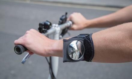 Armband mit Rückspiegel fürs Fahrradfahren (Frankfurt)