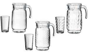 Style Setter Summer Collection Pitcher and Glass Set (7-Piece) at Style Setter Summer Collection Pitcher and Glass Set (7-Piece), plus 9.0% Cash Back from Ebates.