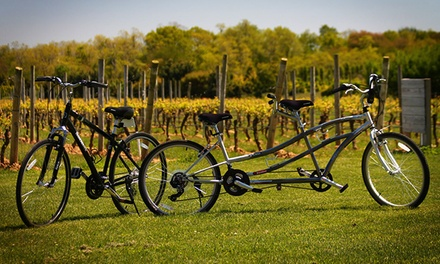Signature Winery Bike Tour with Tastings or A La Carte Bike Tour for One, Two, or Four (Up to 51% Off)