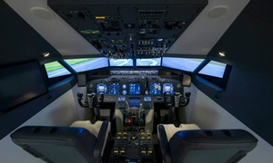Virtual Flight: 30 min ou 1h aux commandes du Boeing 737-800 et 15 mn de briefing pour 1 ou 2 dès 59 € chez Virtual Flight
