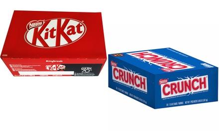 Boxen chocolade KitKat/Crunch