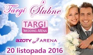 EXPO ARENA Szczecin: Targi Wedding Arena w terminie 20.11.2016: bilet dla 2 osób za 14,99 zł i więcej opcji w EXPO ARENA Szczecin