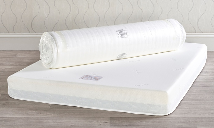 Myers Beds Refresh, Renew or Restore Roll-Up Mattress from £99 With Free Delivery