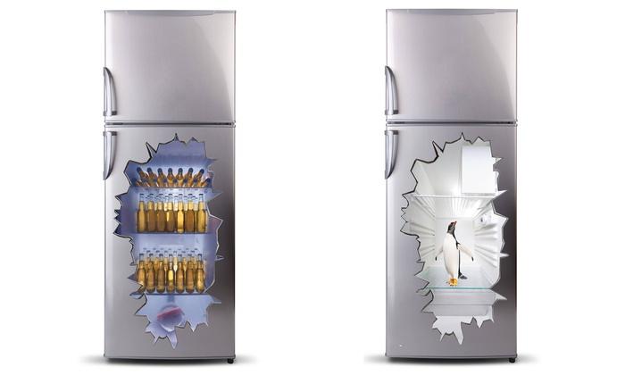 Kühlschrank Erfrischer : D kühlschrank aufkleber groupon goods