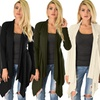 Lyss Loo Draped Ribbed Cardigan