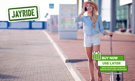 20% Off Private & Shared Airport Transfer Services at Jayride in Australia, Africa, Asia, Europe, Oceania, and Americas