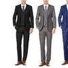 Braveman Men's Slim Fit Suit (3-Piece). Multiple Options Available.