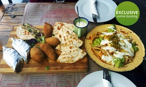 Mexican on Long: Mexican or Chef's Platter from R179 at Mexican on Long (Up to 52% Off)