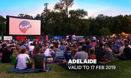 Moonlight Cinemas: GA Tickets Botanic Park, Adelaide Up to $17 Value