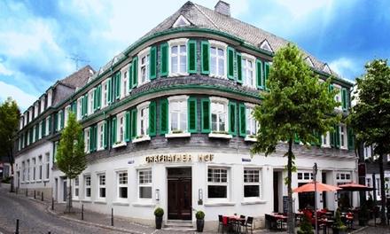 Bergisches Land: 2- 4 Tage für Zwei mit Wellness und 3-Gänge-Menü im 4* Hotel Gräfrather Hof