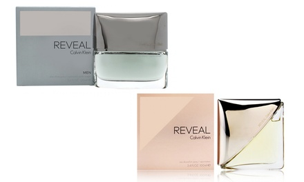 Calvin Klein Reveal Aftershave 100ml for Men for £19.99 or Eau De Parfume 100ml for Women £25.99