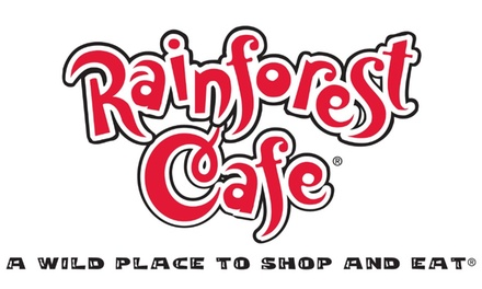 15% Off eGift Card Good Towards Dine-In and Carry-Out at Rainforest Café