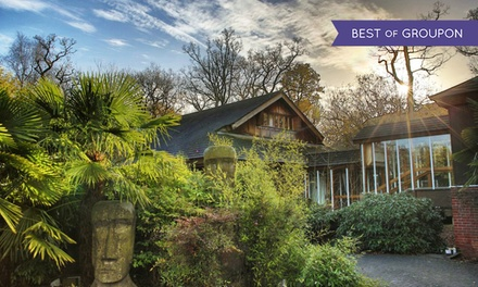 Hampshire: 1 or 2 Nights for Two with Breakfast and Option for Zoo Tickets at Marwell Hotel