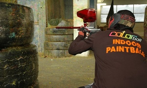 Color Ball: Une partie de paintball indoor avec 100 billes pour 1, 2, 4 ou 10 personnes dés 11,99€  chez Color Ball à Charleroi