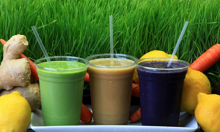 LIFEbar - Multiple Locations: $12 for Two Groupons, Each Good for $12 Worth of Smoothies and Juices at Life Bar ($24 Total Value)