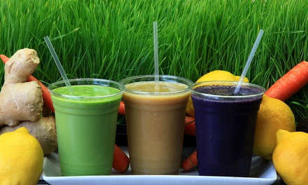 $12 for Two Groupons, Each Good for $12 Worth of Smoothies and Juices at Life Bar ($24 Total Value)