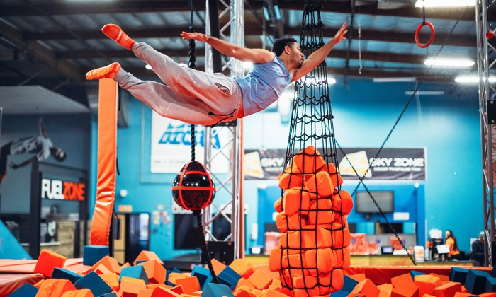 photo about Sky Zone Printable Coupons identify Sky Zone - San Marcos - San Marcos, CA Groupon
