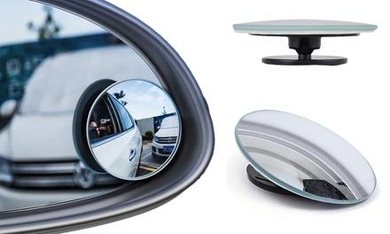 2 espejos de aumento para retrovisor