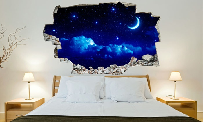 Decorative 3d Effect Wall Sticker Groupon Goods