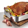 Anolon Tri-Ply Clad Stainless Steel Large Rectangular Roaster