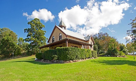 MidNorth Coast, Forster: 2, 3, or 5Night Country Escape or 6 People with Wine at Clarendon Forest Retreat