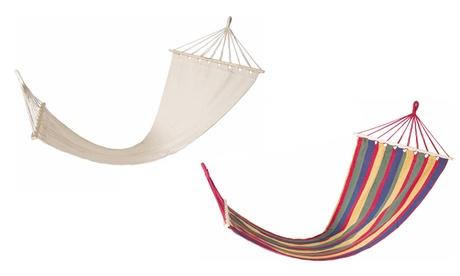 Hamaca de lona disponible en varios colores