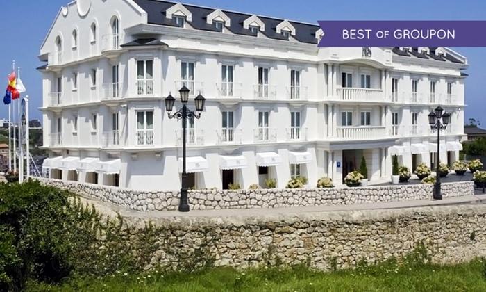 Gran Hotel Suances - Hotel Suances 4*: Suances: 1, 2 o 3 noches para 2 con late check-out, desayuno, degustación y opción a cena y a visita en Hotel Suances 4*
