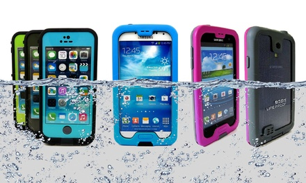 LifeProof Waterproof Fre Case for iPhone 5/5s or Samsung Galaxy S4 or Nuud Case for Galaxy S4 from $29.99–$34.99