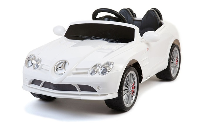 Mercedes benz kids 39 ride on car groupon goods for Mercedes benz for kids
