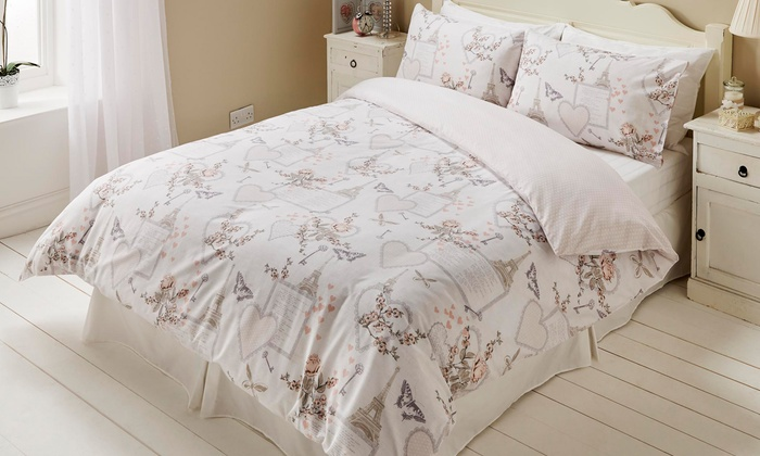 Easy Care Reversible Duvet Sets from £5