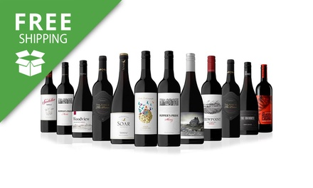 $89 Bottles of Premium Mixed Wines from Australia and New Zealand Don't Pay $289