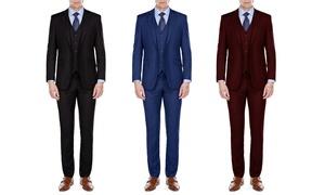Braveman MDRN Uomo Men's Slim-Fit Suits (3-Piece)