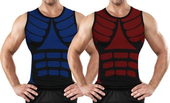 Men's Compression Shirt with Targeted Compression