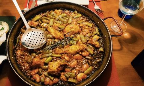 Menú para 2 o 4 con entrante, principal, postre y bebida en Restaurant El Balco Del Micalet