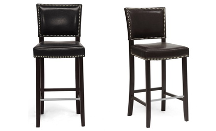 Set of 2 Aries Modern Barstools