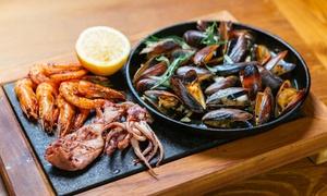 Chill n Grill: Morskie menu degustacyjne i więcej dla 2 osób za 99,99 zł i inne opcje w Chill n Grill