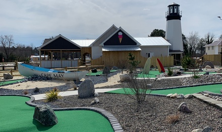 Round of Mini Golf for One, Two, or Four with Small Ice Creams at The Millville Boardwalk (Up to 58% Off)