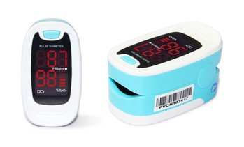 Finger Pulse Oximeter Blood Oxygen Saturation Patient Monitor