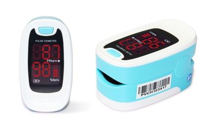 Finger Pulse Oximeter Blood Oxygen Saturation Patient Monitor