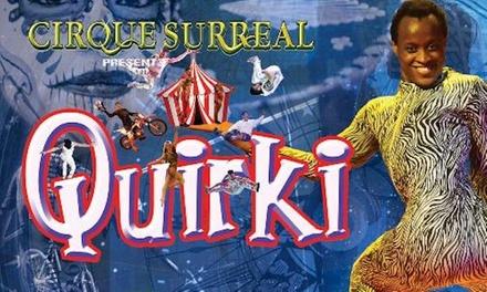 Cirque Surreal, 19 October–3 November at intu Trafford Centre, Stretford