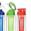 Carteret Flip-Top Tritan Infusion Water Bottles (1- or 2-Pack)