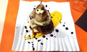 El Bocadito: Menú para 2 o 4 con entrante, trinchado ternera gallega y calamar, postre y botella de vino desde 19,90 € en El Bocadito