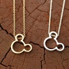 Dainty Mouse Ears Necklace