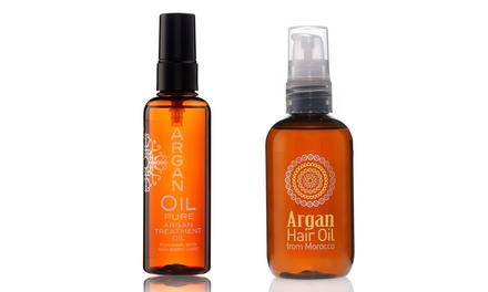 Pure Argan 100ml Treatment Oil For Hair and Body