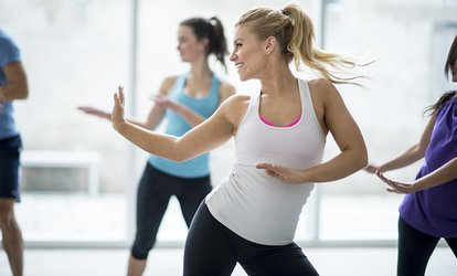 image for 10 <strong>Zumba</strong> Classes or One Month of Unlimited <strong>Zumba</strong> Classes at Beastin Beauties Fit Studio (Up to 53% Off)