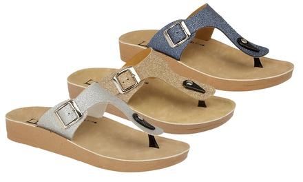 Womens Slip-On Sandals