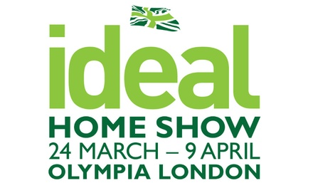 the ideal home show in london groupon. Black Bedroom Furniture Sets. Home Design Ideas