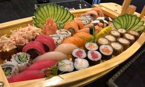 Sushi Nations Restaurant: All-You-Can-Eat Sushi Boat: Sushi, Maki and Nigiri for Up to Eight at Sushi Nations Restaurant (Up to 57% Off)